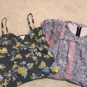 (2) bundle Nordstrom dresses